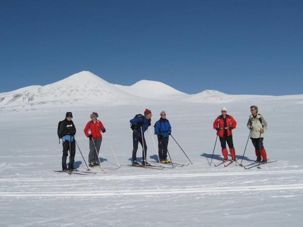 Ski touring vacation in Norway, Rondane National Park