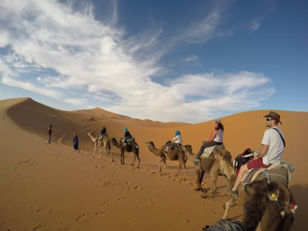 Sahara desert & Atlas mountains adventure vacation, Morocco