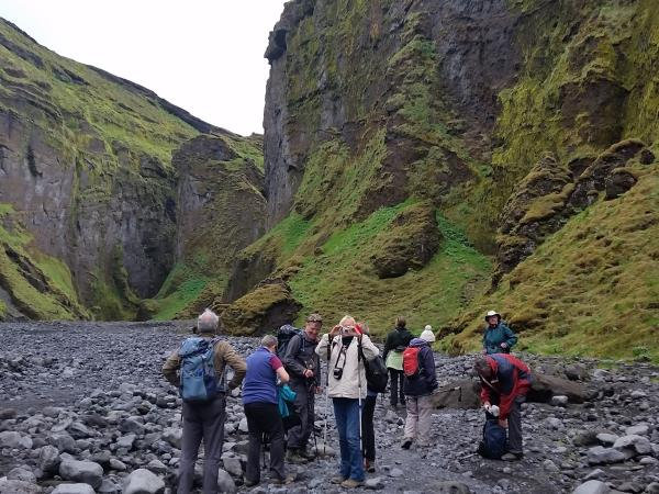 Iceland hiking vacation