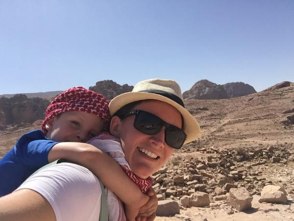 Family vacation to Jordan
