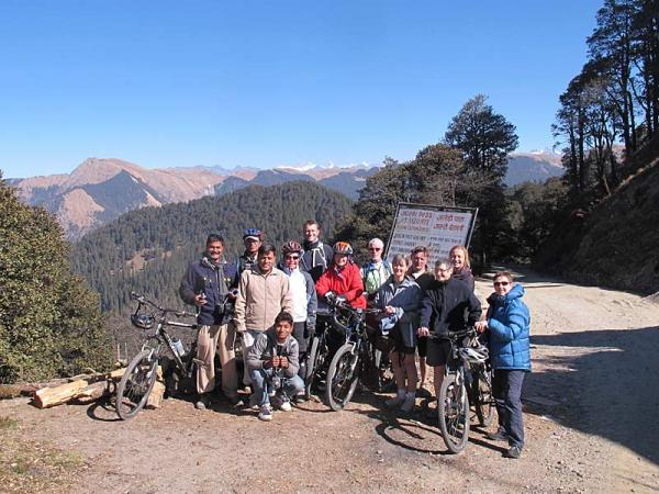 India hill stations biking vacation