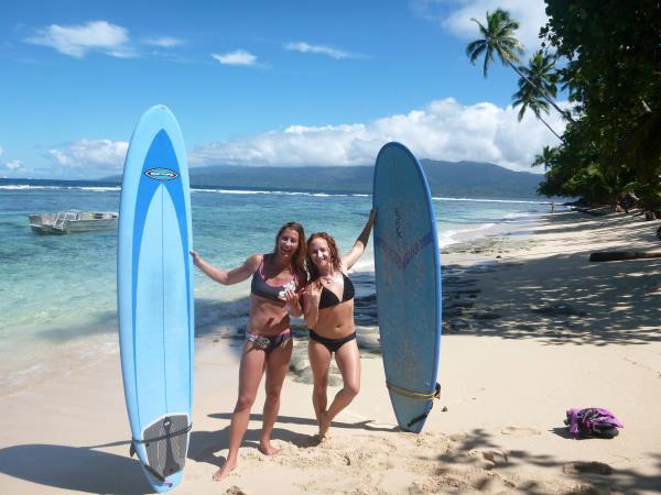 Fiji surfing vacation