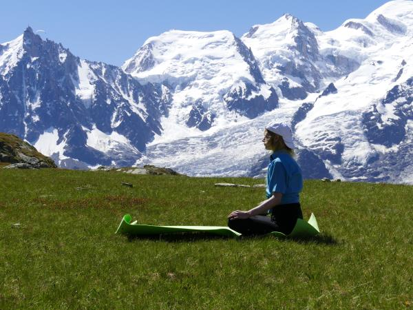 Mont Blanc yoga and hiking vacation