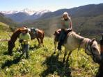 Ranch adventure horseback riding, Canada