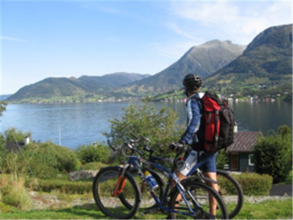 Self guided cycling vacation in Norway, Sunnhordland fjords