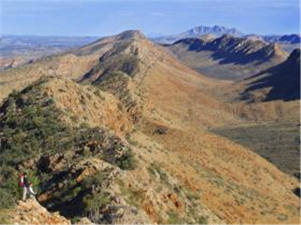 Queensland trekking holiday, Larapinta Trail, Australia