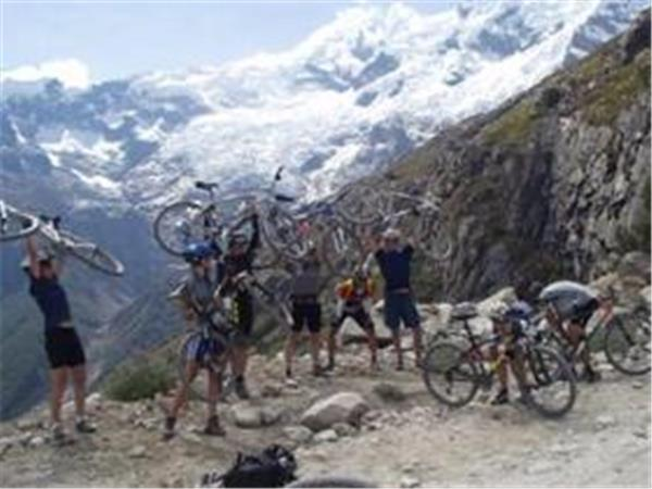 Mountain Biking holiday in the Cordillera Blanca, Peru