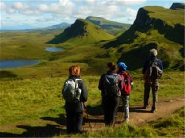 Scottish Highlands and Hebrides walking holiday, Scotland