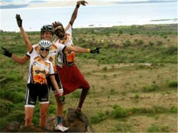 Kenya mountain biking vacation, 9 days