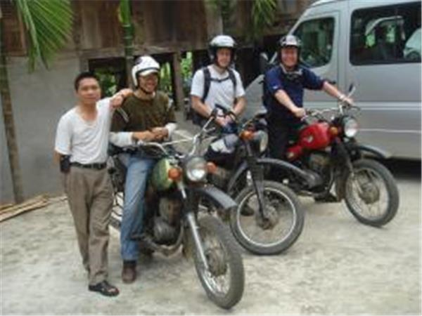 Motorcycling vacation in Vietnam, the Ho Chi Minh Trail
