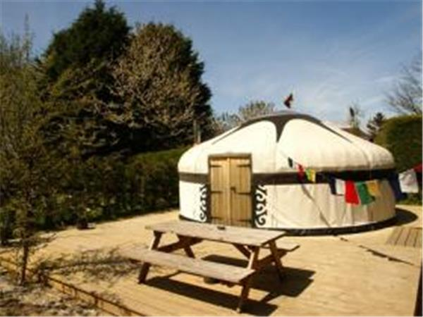 East Sussex yurt glamping near Rye, UK