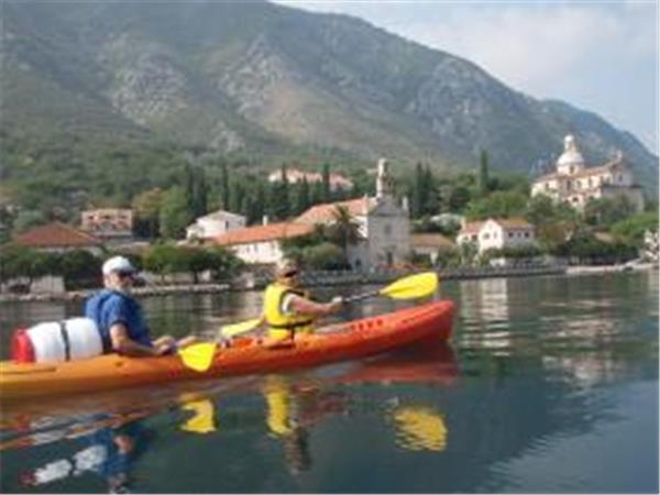 Kayaking vacation in Montenegro