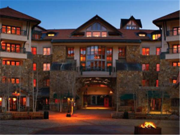 Telluride lodge in Colorado