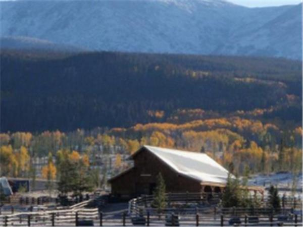 Tabernash ranch & spa in Colorado, USA