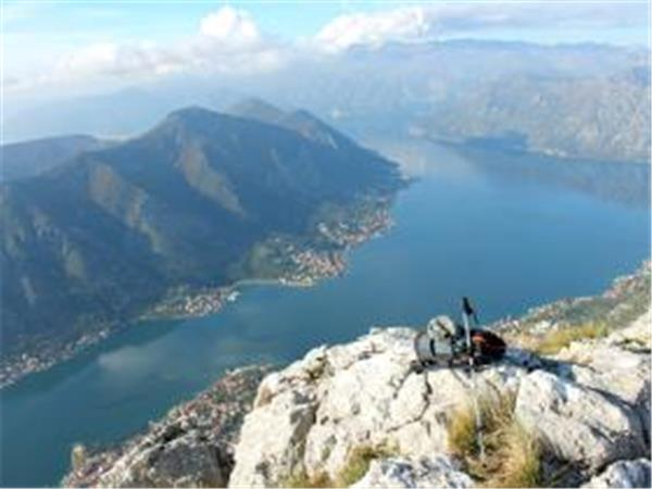 Montenegro hiking vacation, Bay of Kotor
