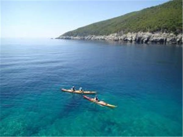 Croatia sea kayaking vacation, islands & parks