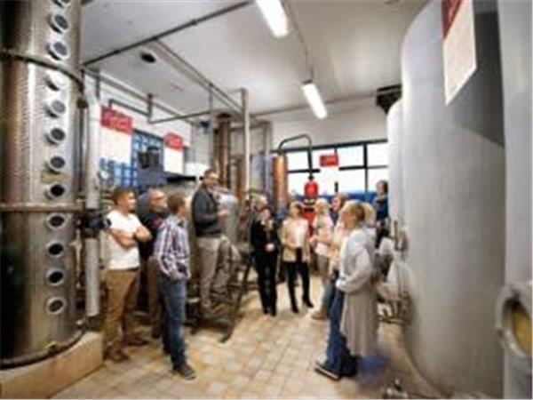 Birkenhof distillery tour, Germany