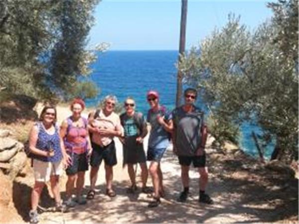 Mt Pelion hiking vacation in Greece