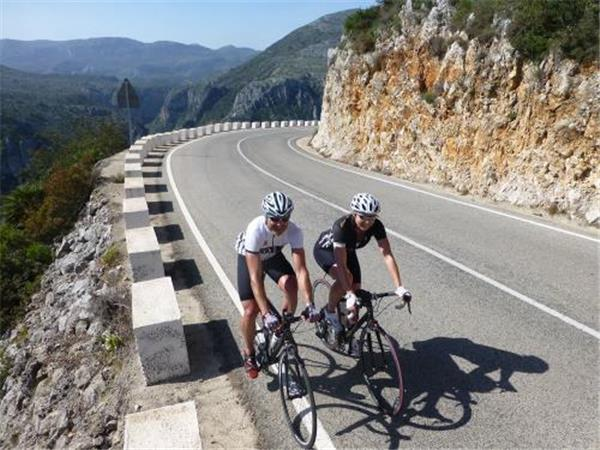 Road biking vacation in Spain, Costa Blanca