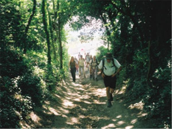 Walking in Kent, self guided walks, England