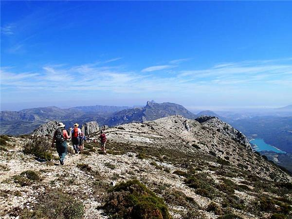 Sierra de Aitana walking vacation in Andalucia, Spain