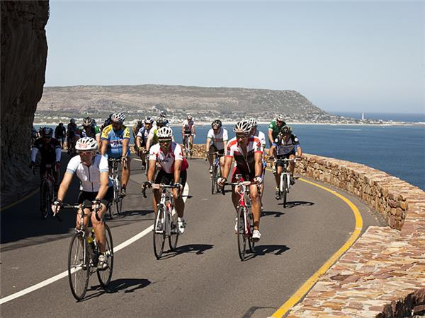 Cape Argus cycle race in South Africa