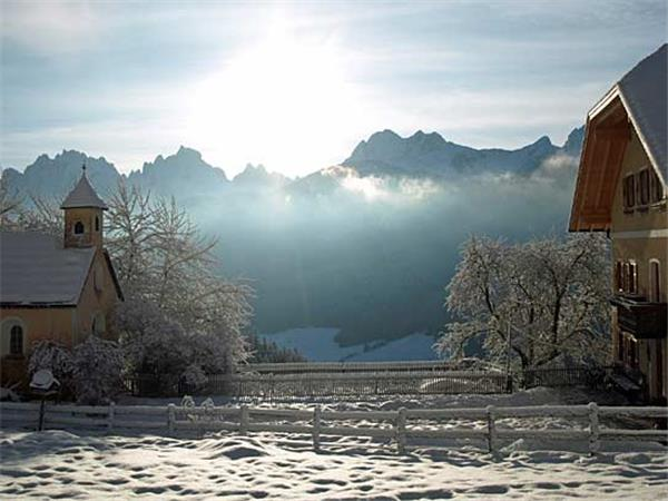 Dolomites winter activity vacation in Italy