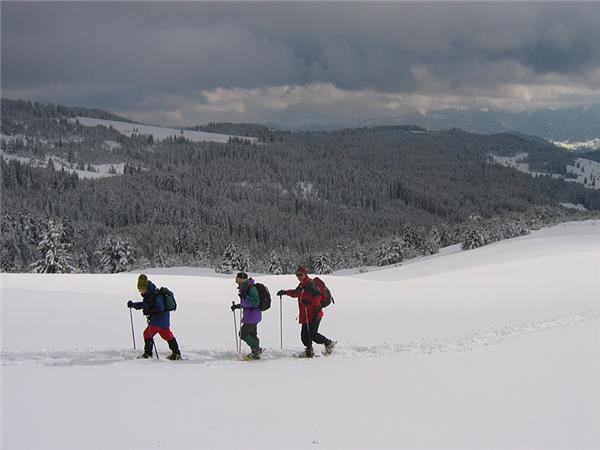 Winter walking and snowshoeing vacation in Bulgaria