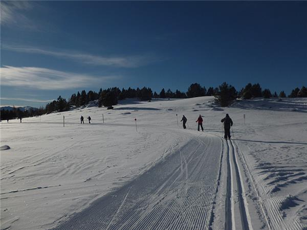 Pyrenees cross country skiing in France