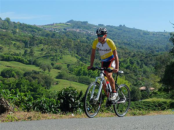 Biking vacation in Colombia