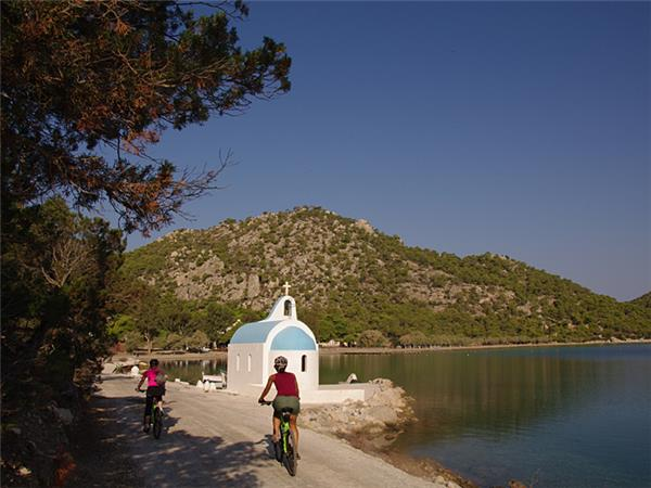 Greek biking vacation