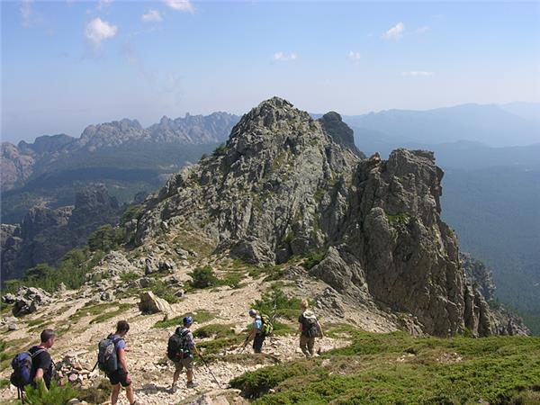GR20 trekking vacation in Corsica, France