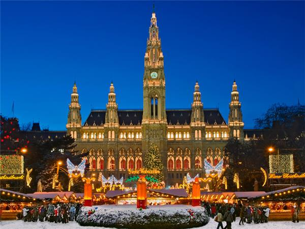 Christmas markets vacation, Central Europe