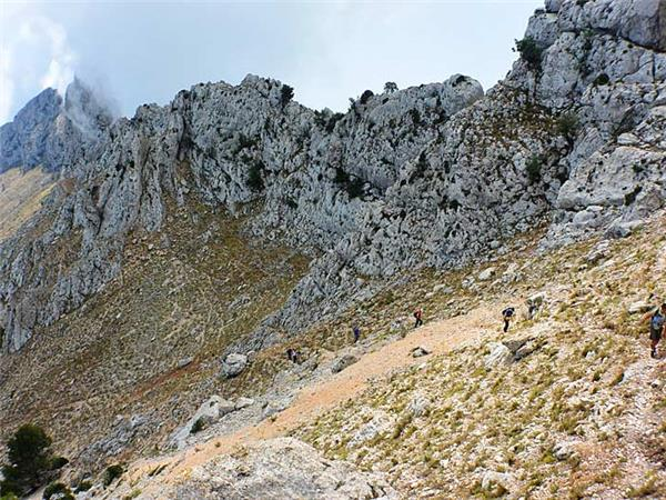 Sierra de Aitana activity vacation in Spain