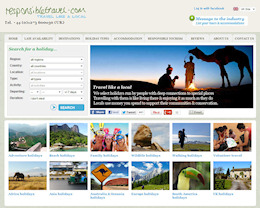 Responsible Travel site