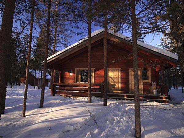 Finland huski safari & Northern Lights vacation