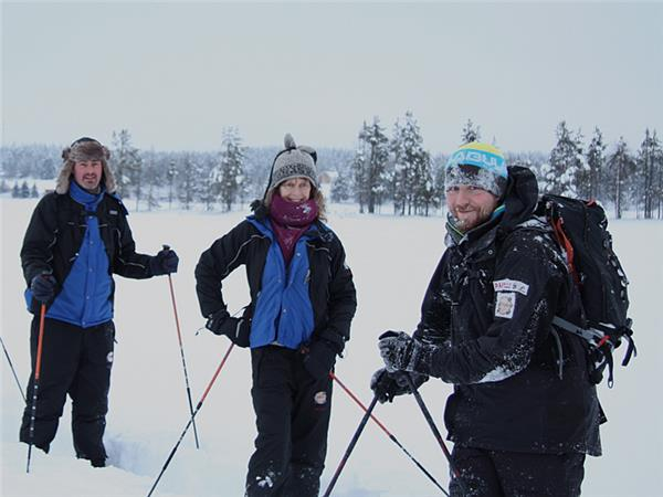 Finland winter activity vacation & Northern Lights