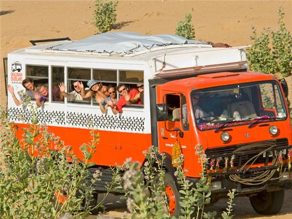 India overland truck tour, with Nepal and Bhutan