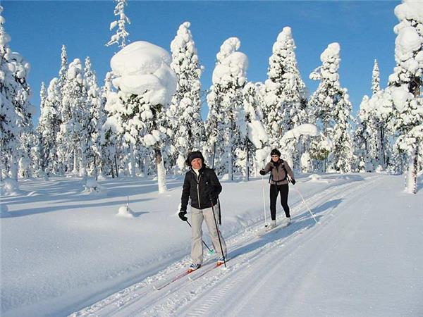 Cross country skiing in Finland