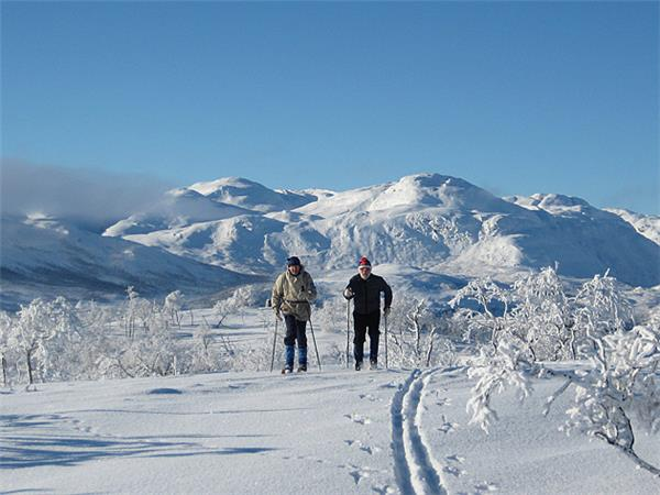 Mosstrond cross country skiing in Norway