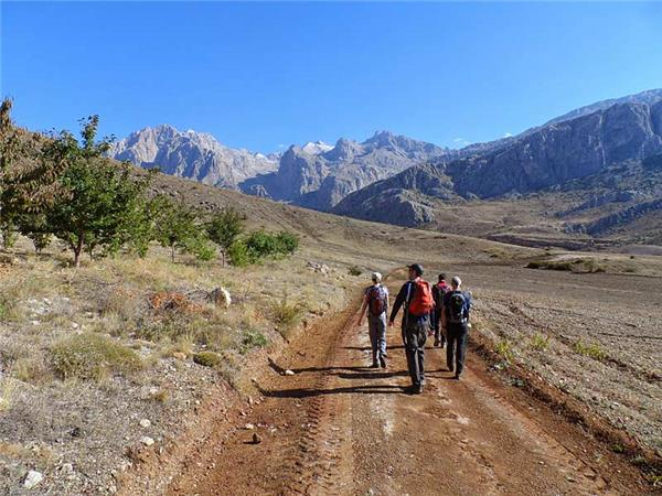 Taurus Mountains trekking vacation in Turkey