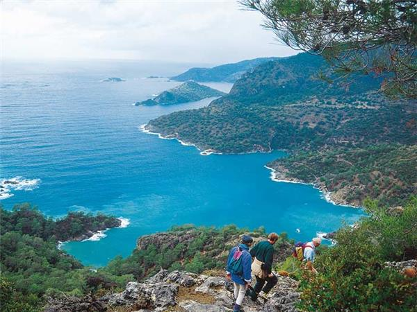 Walking the Turquoise coast vacation in Turkey