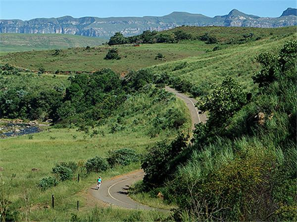 South Africa cycling vacation, Drakensberg and Kruger