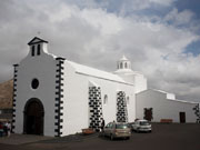Ermita de Los Dolores Mancha Blanca, Lanzarote. Photo by Nick Haslam