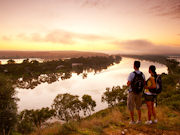 Hiking in Murraylands, South Australia. Photo by South Australia Tourist Board