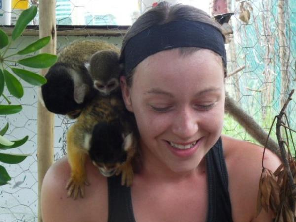 Primate rescue volunteer vacation in South Africa