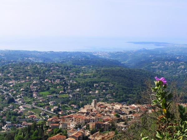 French Riviera vacation, with morning yoga