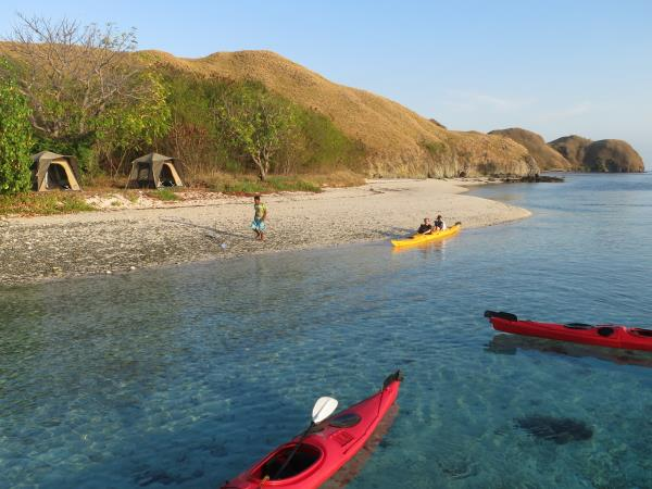 Kayaking vacation in Indonesia