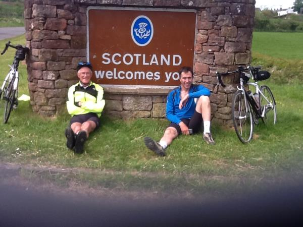 Lands End To John O'Groats biking trip