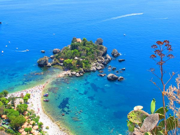 Family activity vacation to Sicily, Etna to Isola Bella